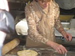 Colleen Lamont Cooking at Donnanna in NaplesItaly