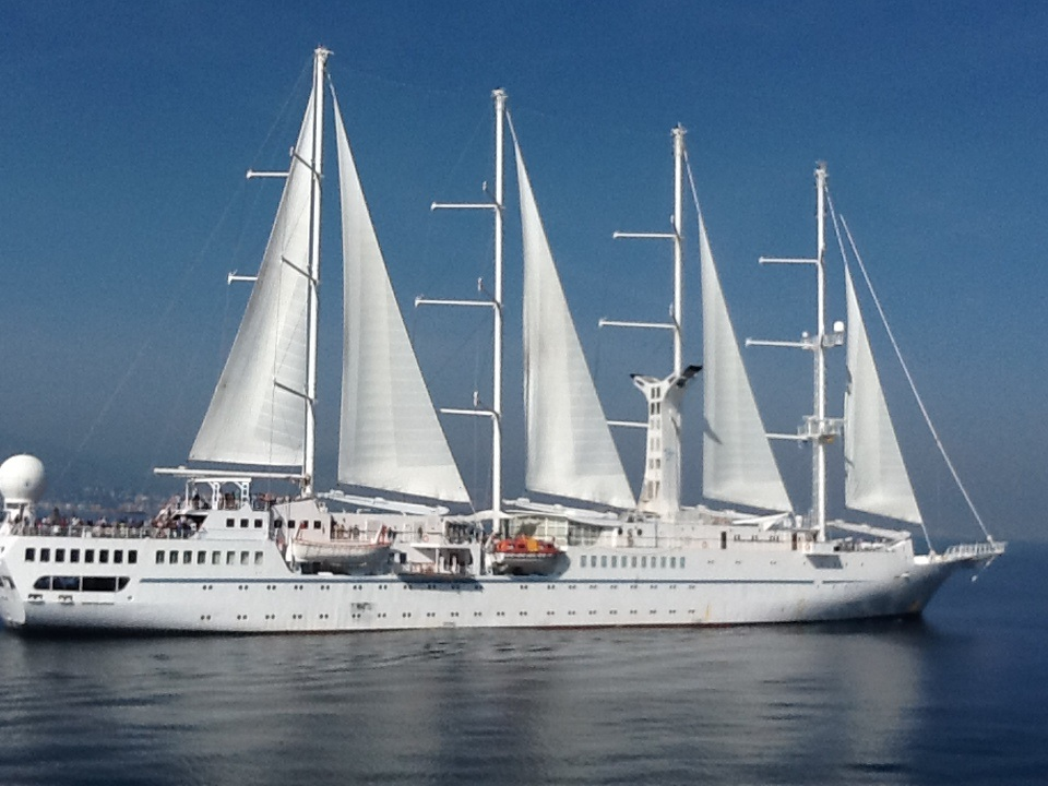 Windstar Cruising along Spanish Coast