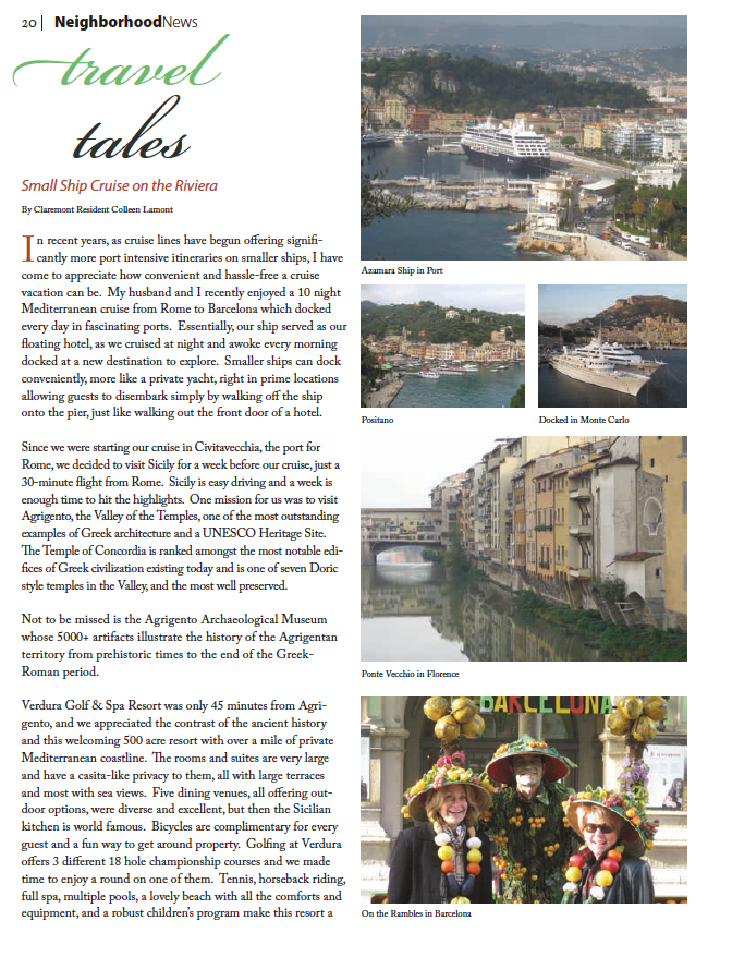Travel Tales Issue #2 by Colleen Lamont